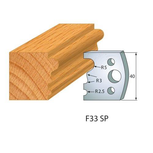 Profilmesser bzw. Abweiser Nr.33 | BG-konform - 40 mm