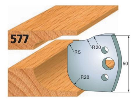 Profilmesser bzw. Abweiser Nr. 577 | 50 mm