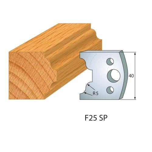 Profilmesser bzw. Abweiser Nr.25   BG-konform - 40 mm