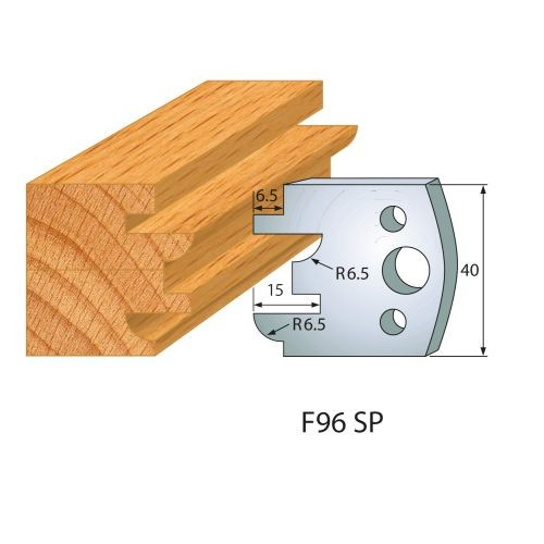 Profilmesser bzw. Abweiser Nr.201 | BG-konform - 40 mm