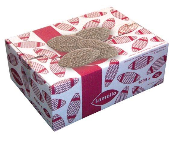 LAMELLO Die Original Holzlamelle im Karton zu 1.000 Stück