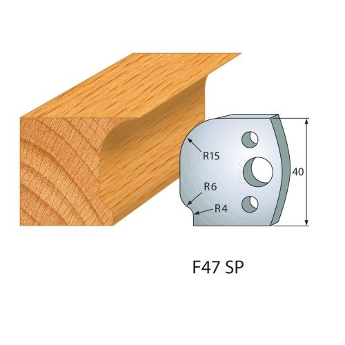 Profilmesser bzw. Abweiser Nr.47 | BG-konform - 40 mm