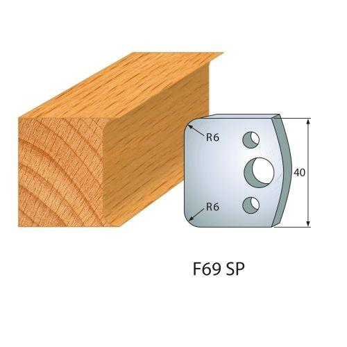 Profilmesser bzw. Abweiser Nr.69 | BG-konform - 40 mm