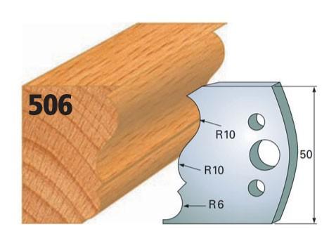 Profilmesser bzw. Abweiser Nr. 506   50 mm